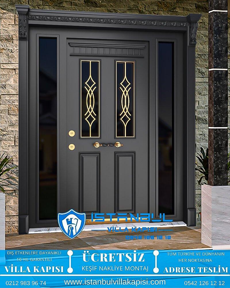 camlı ferforjeli istanbul villa kapısı villa kapısı modelleri istanbul villa giriş kapısı villa kapısı fiyatları-10