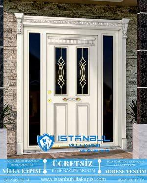 camlı ferforjeli istanbul villa kapısı villa kapısı modelleri istanbul villa giriş kapısı villa kapısı fiyatları-11