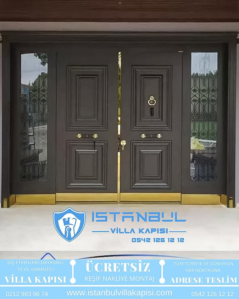 istanbul villa kapısı villa kapısı modelleri istanbul villa giriş kapısı villa kapısı fiyatları Haustüren DOORS entrance door steel doors-82