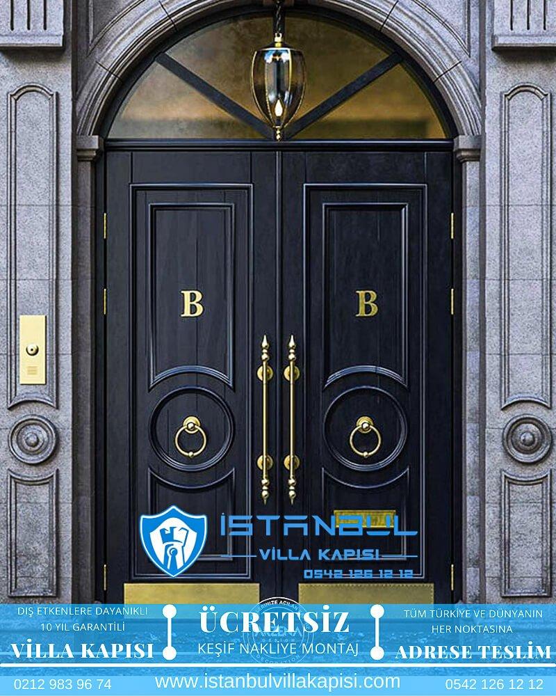 istanbul villa kapısı villa kapısı modelleri istanbul villa giriş kapısı villa kapısı fiyatları- steel doors haustüren 26