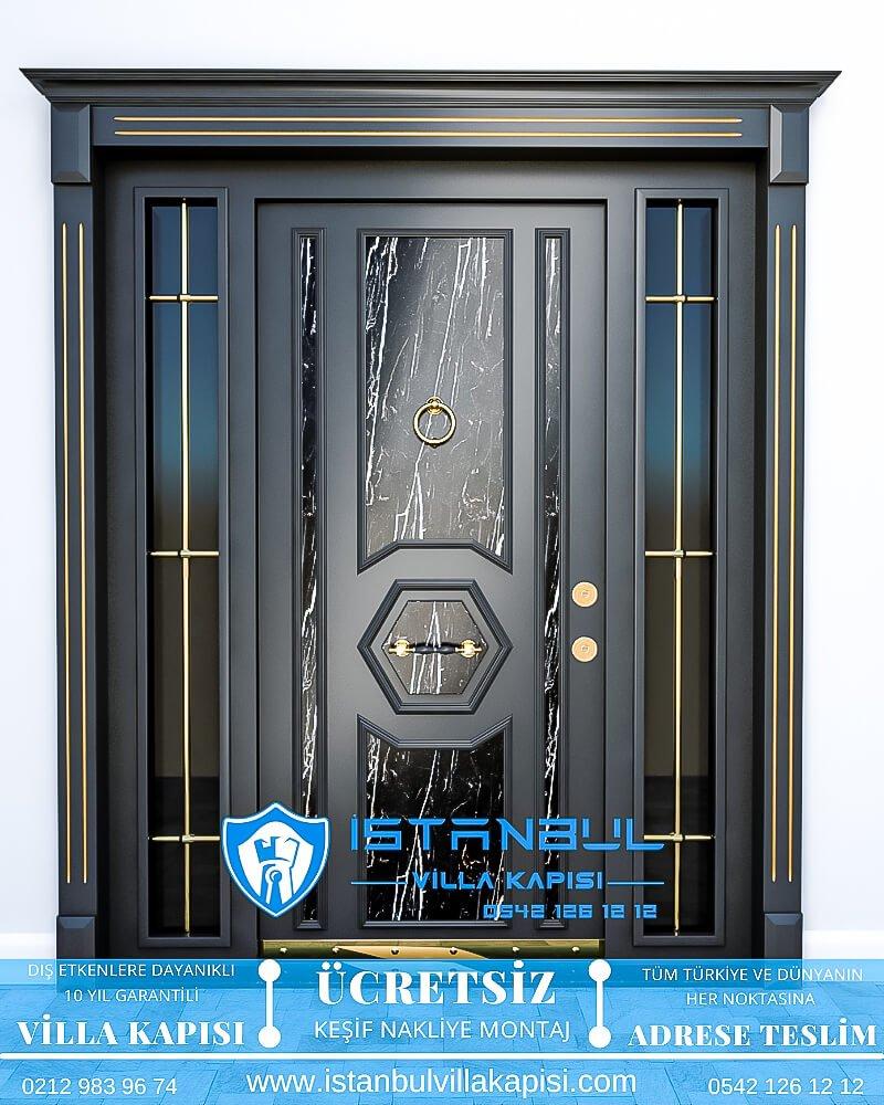siyah mermeristanbul villa kapısı villa kapısı modelleri istanbul villa giriş kapısı villa kapısı fiyatları-6